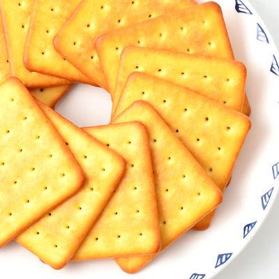 【超好吃】咸蛋黄芝士饼干好吃的零食威化饼干批发整箱休闲食品