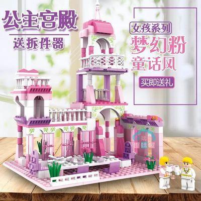 搭房子积木玩具大颗粒大号拼装益智创意塑料儿童宝宝男孩女孩城堡