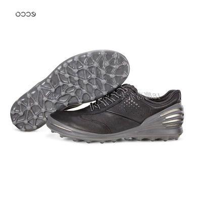 新款春夏ecco爱步男士无钉高尔夫球鞋网式系列运动休闲鞋133004