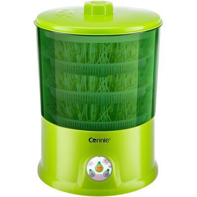 爆款康丽豆芽机家用全自动正品大容量发豆牙机生绿豆芽盆芽罐三层