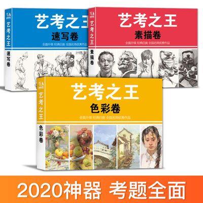 2020艺考之王 美术高考备联考宝典掌中宝口袋书素描头像色彩静物