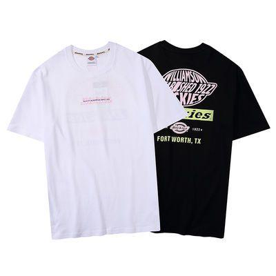 dickies短袖T恤情侣装纯棉款男式迪凯斯超火时尚运动Tee夏季潮牌f
