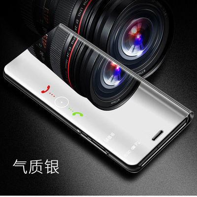 华为mate9手机壳mate9pro翻盖LON皮套MHA-AL00镜面保护套MT9全包