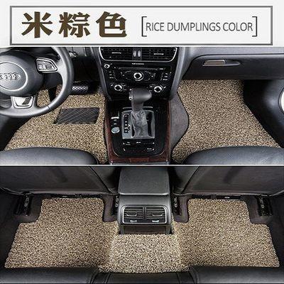 新款汽车脚垫通用款丝圈脚垫易清洗车垫车用脚踏垫专车定制可裁剪
