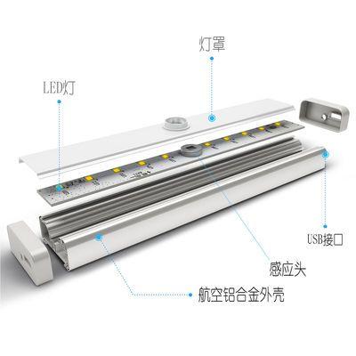 新款充电人体感应灯鞋柜无线感应夜灯衣柜灯感应灯过道楼道led橱