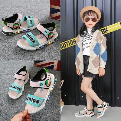 儿童凉鞋2020夏季新款中小童女童凉鞋小孩凉鞋沙滩鞋软底露趾防滑