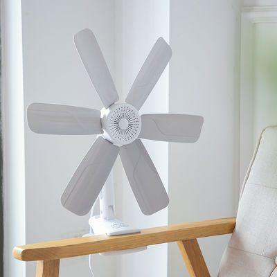 小风扇静音大风力夹扇迷你学生宿舍床头小型多功能电风扇台扇壁扇