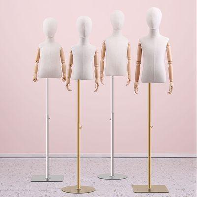 高档儿童模特道具半身人台服装店展示架童装店男女小孩带头模特架