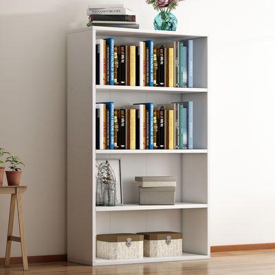 简易书架落地创意简约现代组合架子置物架学生书柜多功能多层柜子