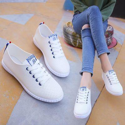 平底学车专用百搭防滑薄款韩范儿小白鞋透气单鞋夏季练车鞋女软底