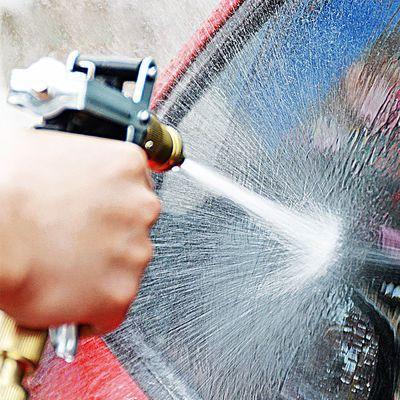 高压洗车水枪全金属套装宝塔型家用纯铜枪头水管刷车洗车神器工具