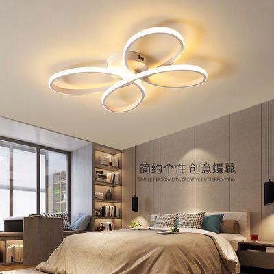 卧室灯吸顶灯led少女创意灯具餐厅灯 家用个性简约现代艺术灯温馨