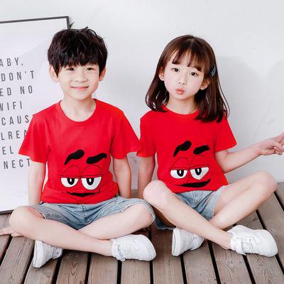 男童短袖T恤棉中小童奥特曼衣服男孩夏季3-4-5岁儿童宝宝半袖薄