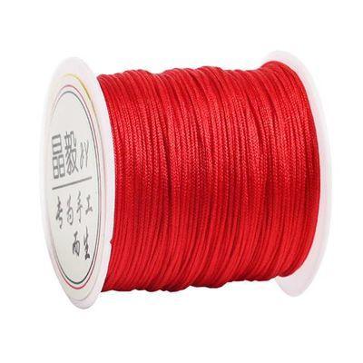 72手工编织绳编绳线绳吊坠线手链红线绳子手编手绳diy材料A号玉线