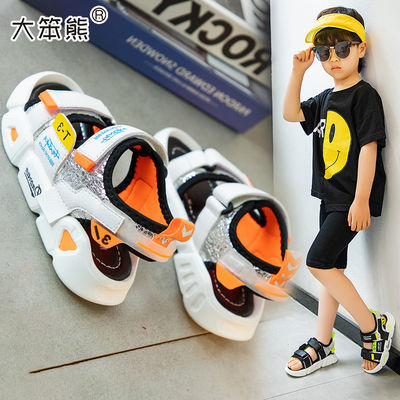 男童凉鞋2020夏季新款儿童凉鞋韩版潮中大童学生小孩男孩沙滩鞋子