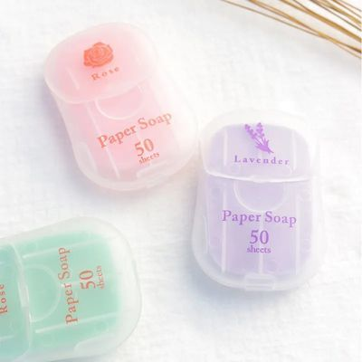 杀菌洗手香皂片旅行便携式肥皂片香皂纸儿童迷你小香皂一次性外出