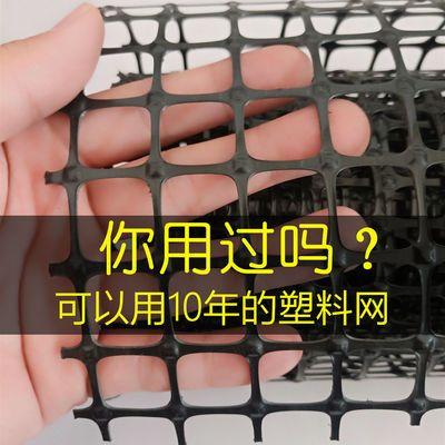 围栏网安全防护网隔离栅栏漏粪网阳台护栏网黑色塑料网养殖网养鸡