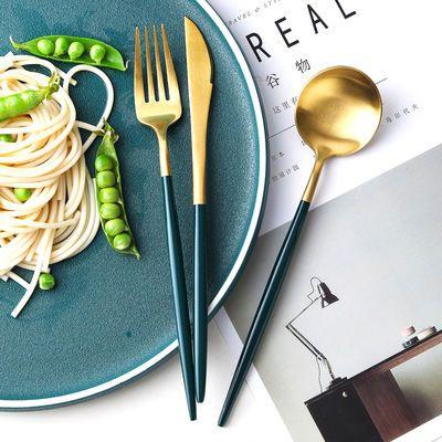 网红勺子家用304不锈钢吃饭喝汤大勺创意可爱长柄搅拌甜品勺汤匙