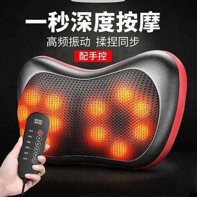 【揉捏加热振动】按摩枕颈椎按摩器颈部腰部肩部腰多功能全身电动