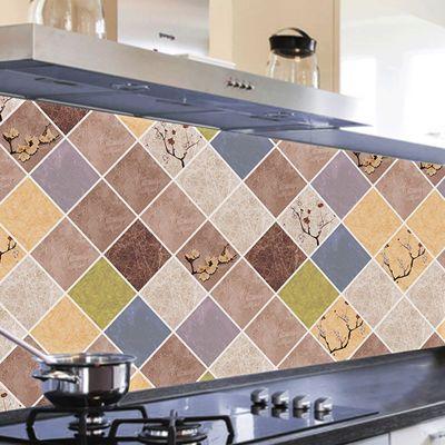 2020新品特卖防油防水耐高温铝箔贴纸灶台厨房壁橱柜油烟桌面防潮
