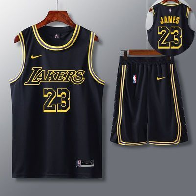 湖人詹姆斯23号NBA篮球服套装男科比篮网队11号欧文球衣7号杜兰特
