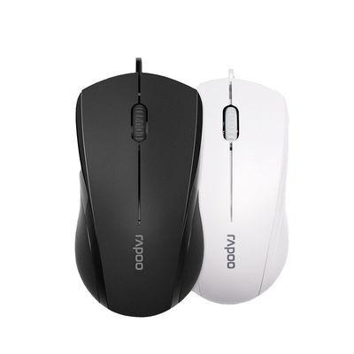 2020新品雷柏N1600有线静音鼠标 游戏鼠标办公家用USB鼠标笔记本