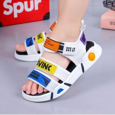 儿童凉鞋[正品专柜】夏季新款沙滩鞋2020小孩女童男童凉鞋