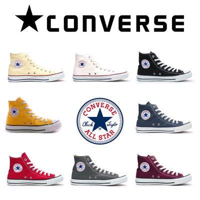 all star经典款休闲帆布鞋70s黑白半拖鞋带平跟时尚高筒复古简约