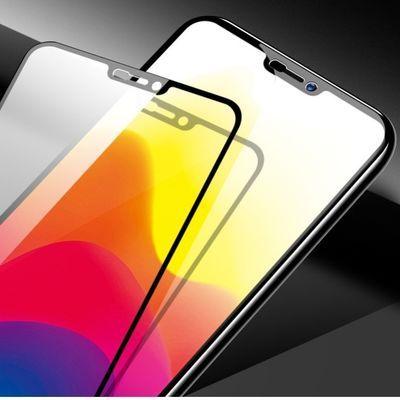 vivox21 x21i钢化膜vivox21a全屏蓝光x21屏幕指纹手机贴膜x21fifa