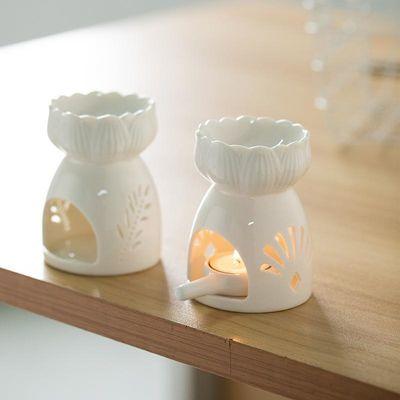 陶瓷香薰炉室内蜡烛香薰灯复古家用香熏炉卧室精油灯炉