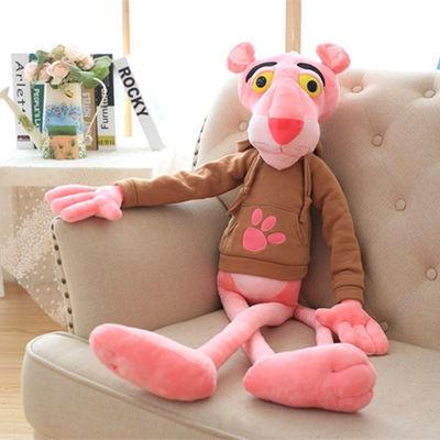 xwjx款粉红豹粉红顽皮豹公仔玩偶达浪跳跳虎毛绒玩具娃娃抱枕女生