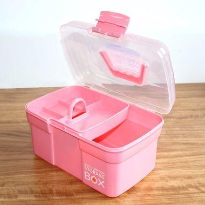 足疗技师塑料工具箱美甲箱采耳美容化妆品收纳药箱收纳盒家用盒子
