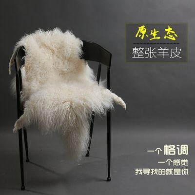 2020新品特卖整张羊皮毛一体沙发垫纯羊毛毯子客厅地毯坐垫床边毯