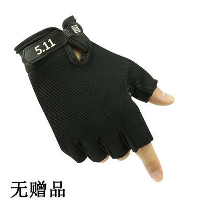 新款特种兵手套男春夏半指运动健身半截手套户外骑行防滑耐磨战术