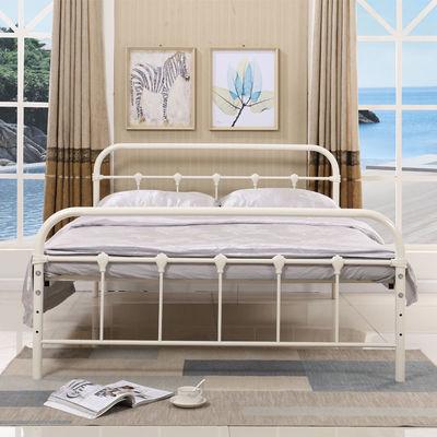 简约现代欧式铁艺双人铁架床1米1.2米1.5米单人铁床环保无味加厚