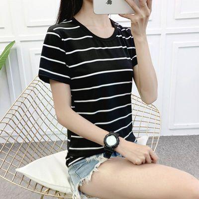 2020原宿风夏季新款短袖t恤学生女韩版百搭上衣打底衫女