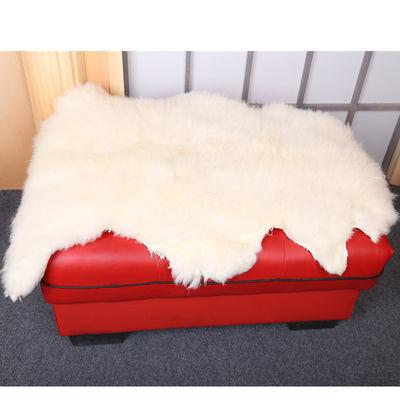 新款整张羊皮垫子纯羊毛毯子地毯皮毛一体沙发坐垫床边褥子飘窗羊