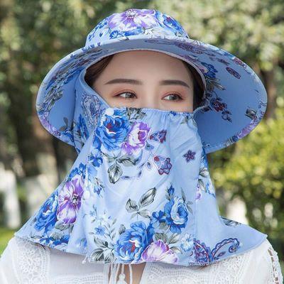2020新品特卖帽子女夏季干活遮阳帽防晒大檐韩版潮骑车女士帽子头