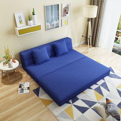 沙发床两用客厅卧室可折叠小户型双人三人多功能榻榻米床懒人沙发
