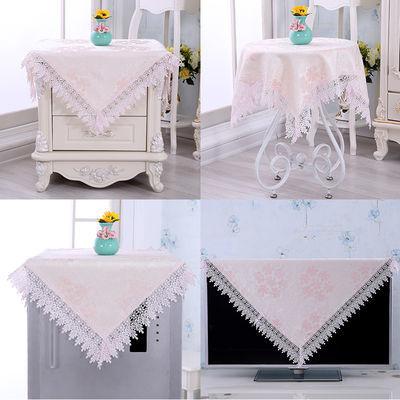 【万能方巾】床头柜罩电视罩小圆桌盖布洗衣机罩冰箱罩微波炉罩