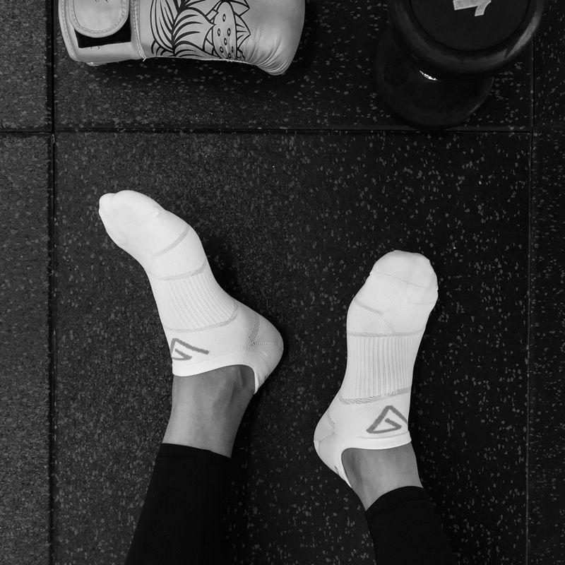 88586-舒跑专业运动袜短袜男款袜子男款 防臭运动袜透气袜子夏季薄款女-详情图