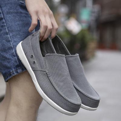 好质量春款男士防臭透气布鞋夏季鞋子男潮老北京布鞋流行低帮休闲