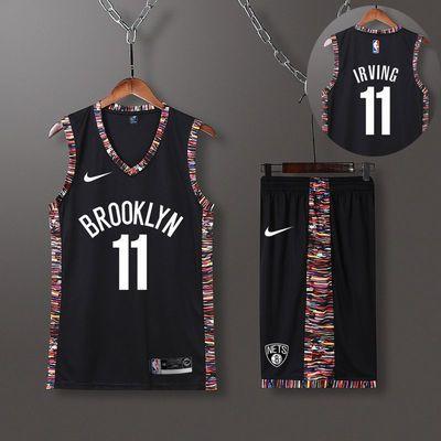 2020新款篮网球衣服篮球衣欧文杜兰特球衣定制球衣团购NBA球衣11