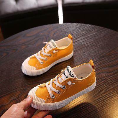 回力童鞋2019春季新款系带经典女童鞋男童儿童小白鞋帆布鞋运动鞋