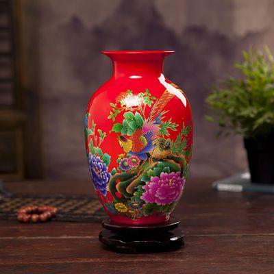 新款陶瓷小花瓶家居客厅桌面小摆件装饰创意花器插花干花植物水培