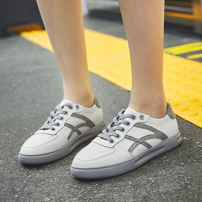 小白鞋女2020新款韩版百搭学生真皮休闲平底防滑透气软皮单鞋板鞋