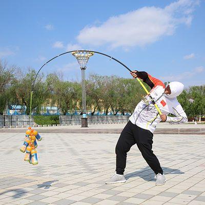 海竿套装特价海杆钓鱼竿海钓竿超硬远投竿抛竿自带地插直接去钓鱼