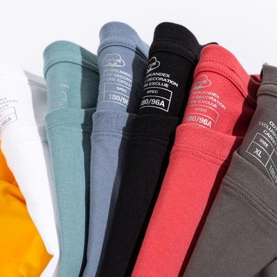 【啄木鸟】100%棉短袖T恤男ins夏季韩版宽松纯棉半袖男体恤衫潮流