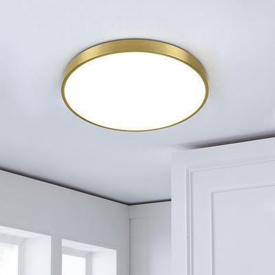 全铜led吸顶灯北欧ins风格网红卧室灯简约后现代温馨浪漫房间灯具