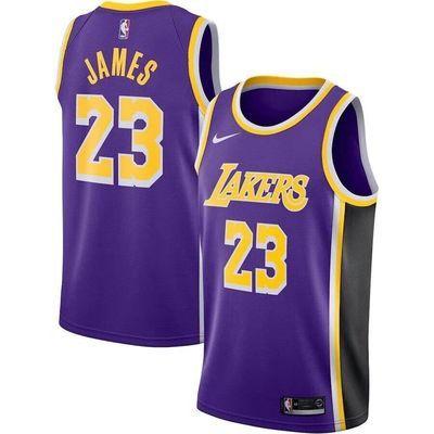 2020新款湖人詹姆斯23号NBA篮球服套装男科比篮网队11号欧文球衣7
